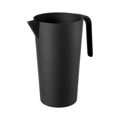 1,7-litrowa karafka Hermes z włókna bambusowego - czarny