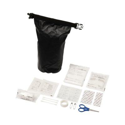 30-elementowa wodoodporna torba pierwszej pomocy Alexander - czarny