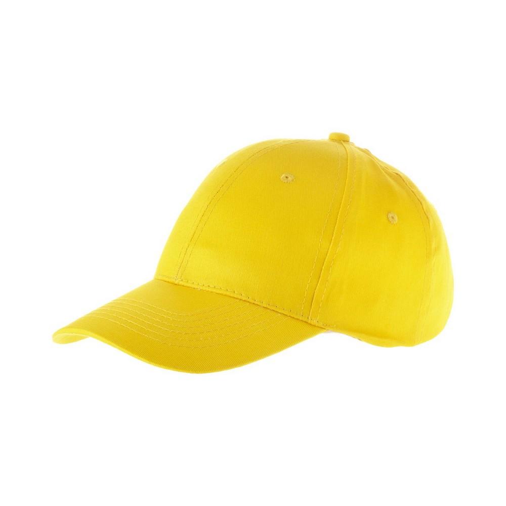 6-panelowa czapka Watson - żółty