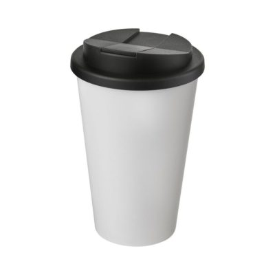 Americano® 350 ml tumbler with spill-proof lid - Biały