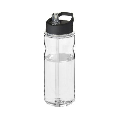 Bidon Base Tritan™ o pojemności 650 ml z wieczkiem z słomką - Biały