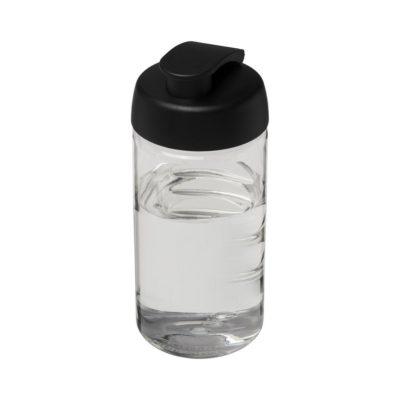 Bidon H2O Bop® o pojemności 500 ml z wieczkiem zaciskowym - Biały