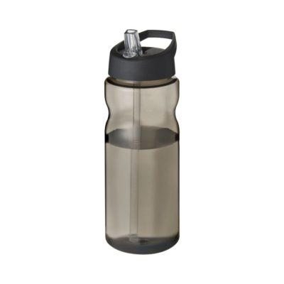 Bidon H2O Eco o pojemności 650 ml z wieczkiem z dzióbkiem - Szary