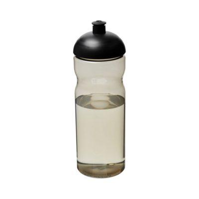 Bidon H2O Eco o pojemności 650 ml z wypukłym wieczkiem - Szary