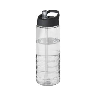 Bidon H2O Treble o pojemności 750 ml z wieczkiem z dzióbkiem - Biały