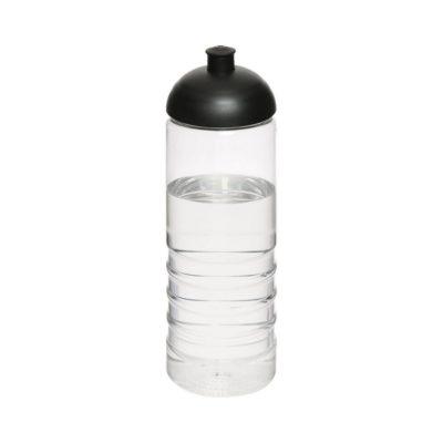 Bidon H2O Treble o pojemności 750 ml z wypukłym wieczkiem - Biały