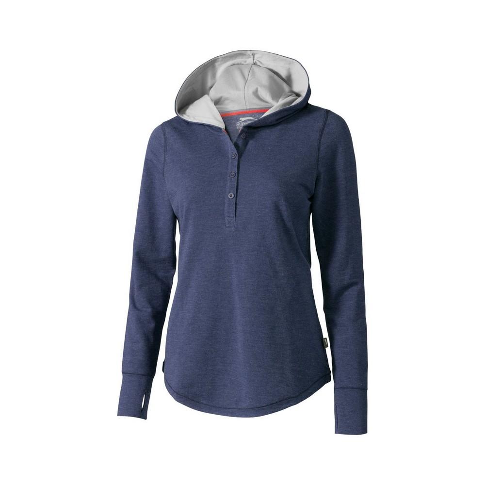 Bluza z kapturem Reflex - niebieski