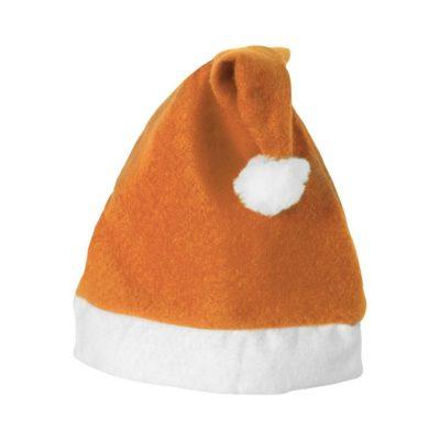 Bożonarodzeniowa czapka Christmas - pomarańczowy