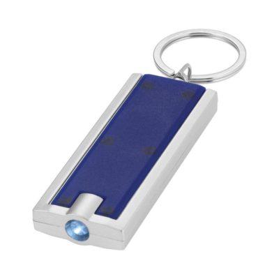 Brelok z latarką Castor - niebieski
