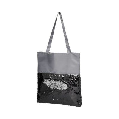 Cekinowa torba na zakupy Mermaid - Szary