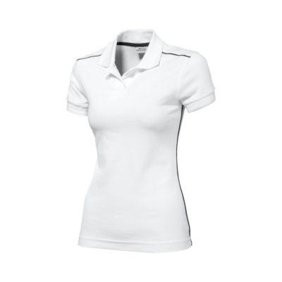 Damska koszulka polo Backhand - Biały