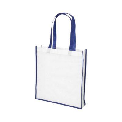 Duża torba na zakupy non-woven Contrast - Biały