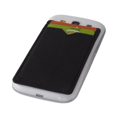 Dwukieszeniowy porfel na telefon RFID Eye - czarny