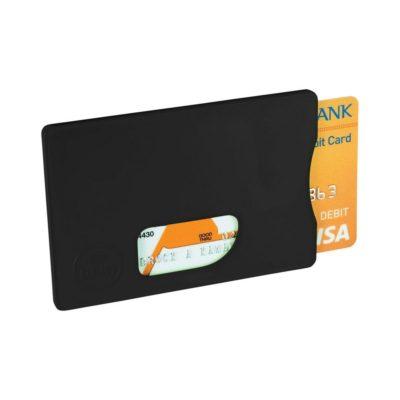 Futerał ochronny na karty kredytowe RFID - czarny