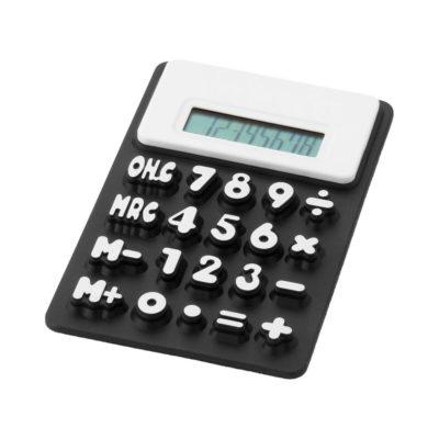 Kalkulator elastyczny Splitz - czarny