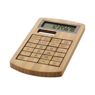 Kalkulator Eugene wykonany z bambusa