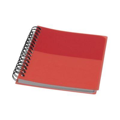 Kołozeszyt A6 Colour-block - Czerwony