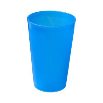 Kubek Drench o pojemności 300 ml wykonany z tworzywa sztucznego - niebieski