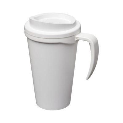 Kubek termiczny z serii Americano® Grande o pojemności 350 ml - Biały