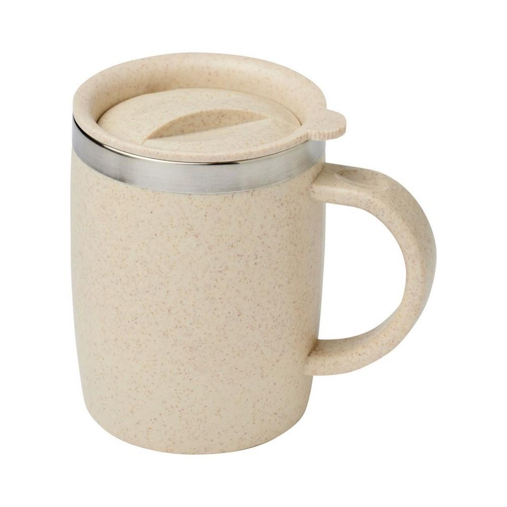 Kubek termiczny ze słomy pszenicznej Wey o pojemności 400 ml