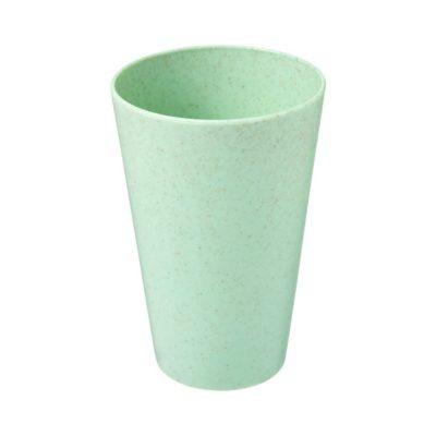 Kubek ze słomy pszenicznej Gila o pojemności 430 ml - Zielony