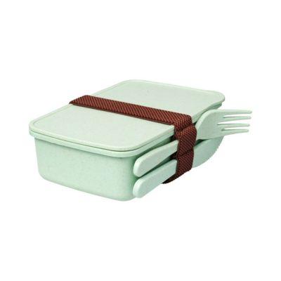 Lunchbox z włókna bambusowego Bamberg - Zielony