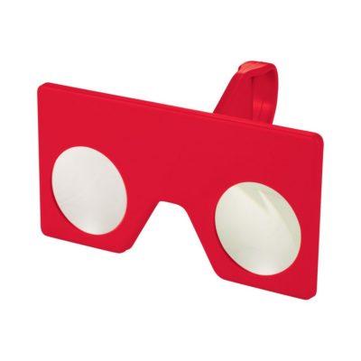 Mini okulary wirtualnej rzeczywistości z klipem - Czerwony