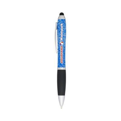 Nakrapiany długopis Nash ze stylusem