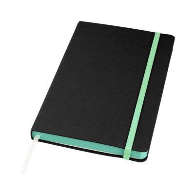 Notes materiałowy Frappé - czarny