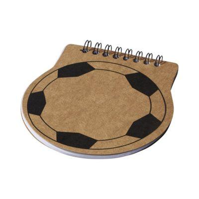 Notes Score w kształcie piłki nożnej