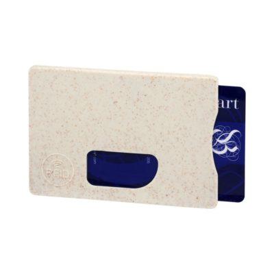 Organizer na karty z zabezpieczeniem RFID Straw - Biały