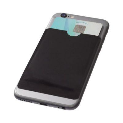 Porfel na smartfona i karty z zabezpieczeniem RFID Exeter - czarny