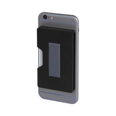Portfel Shield na karty z zabezpieczeniem RFID - czarny