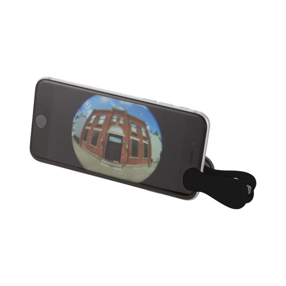 Soczewka do smartfona z klipsem Fish-eye