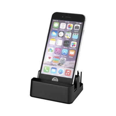 Stojak na biurko z podświetleniem Glint - czarny