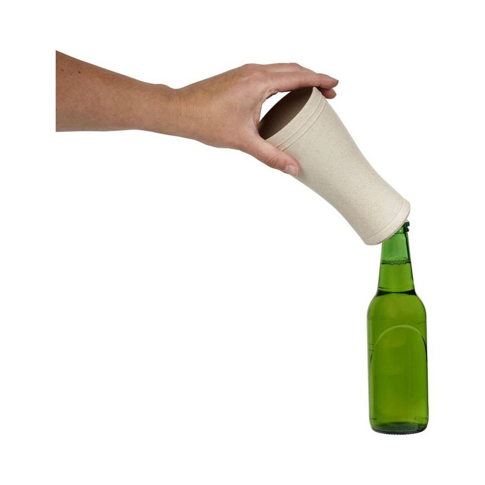 Szklanka do piwa ze słomy pszenicznej Tagus o pojemności 400 ml