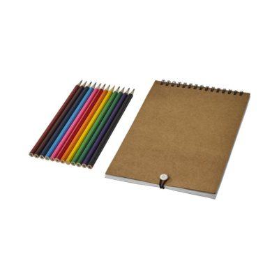 Zestaw do kolorowania z notatnikiem Claude