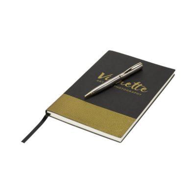 Zestaw upominkowy z notatnikiem i długopisem Midas