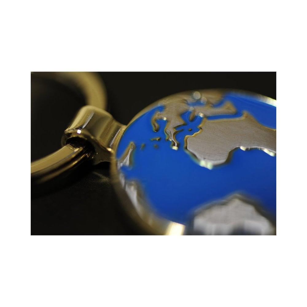 Brelok metalowy Globe