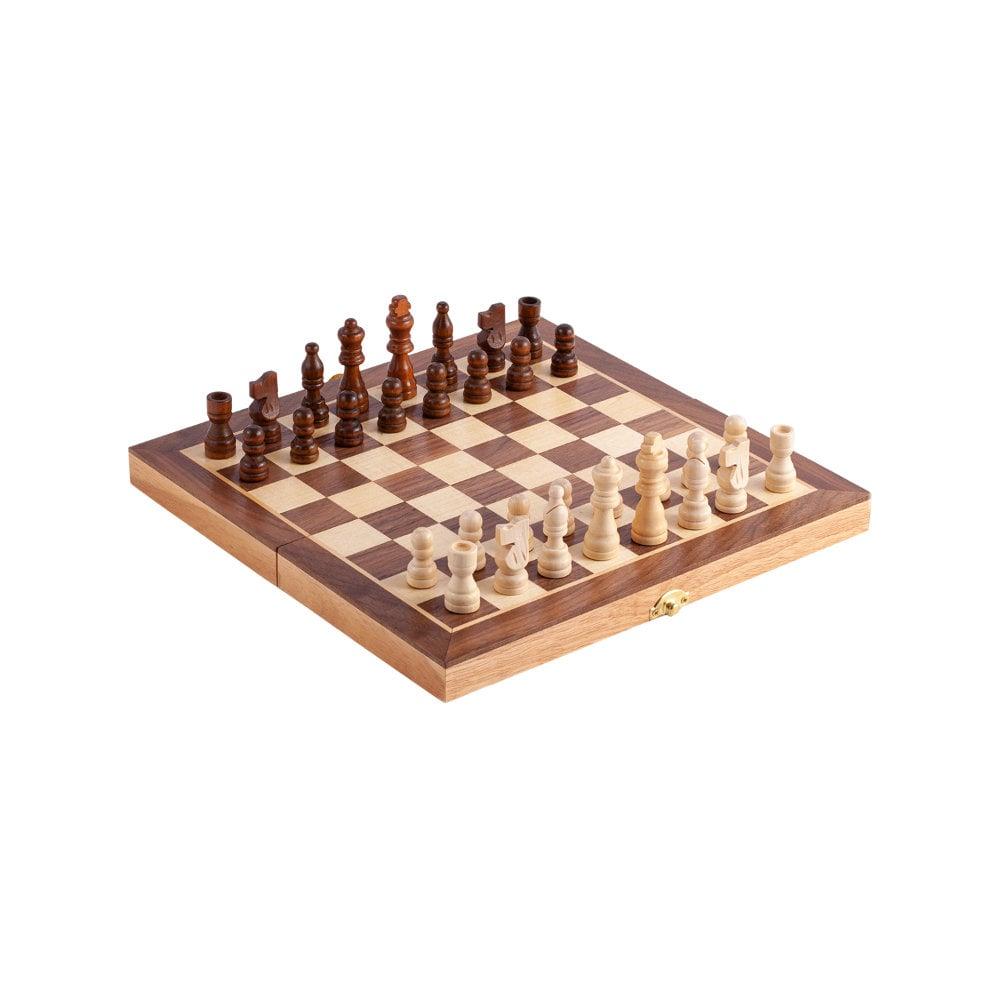 Drewniane szachy