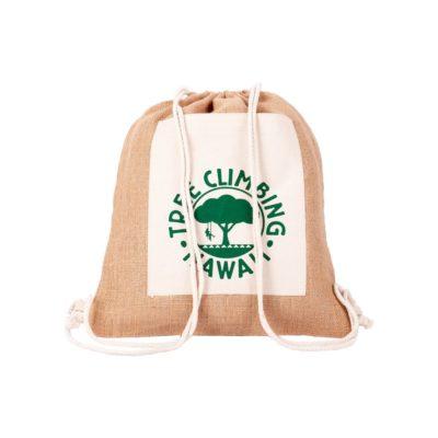Plecak jutowy Eco-Pure