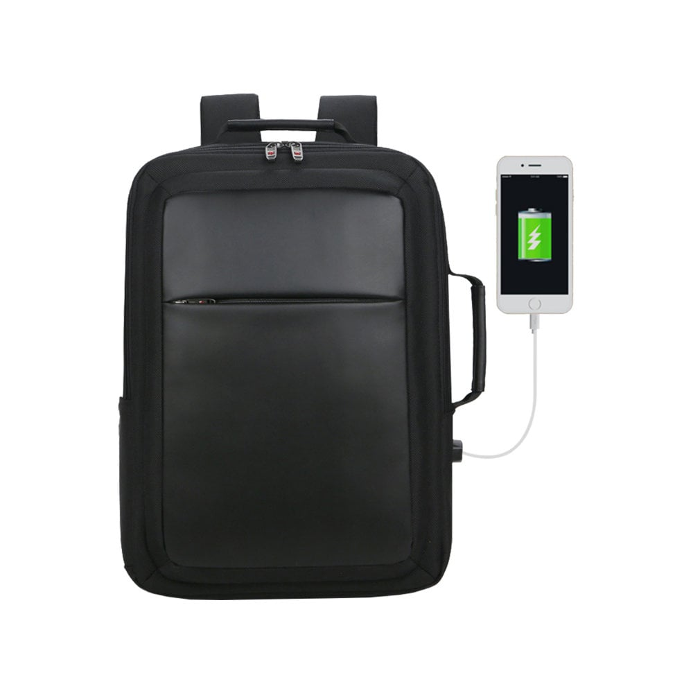 Plecak/teczka City Cyber z ochroną RFID