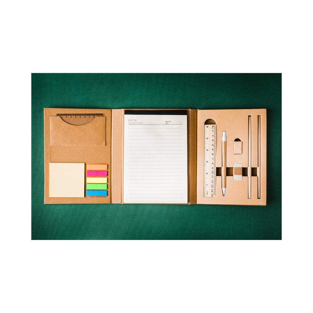 Zestaw biurkowy z notesem Sustain