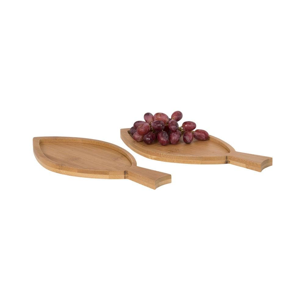 2-częściowy zestaw do serwowania w kształcie ryb Anna