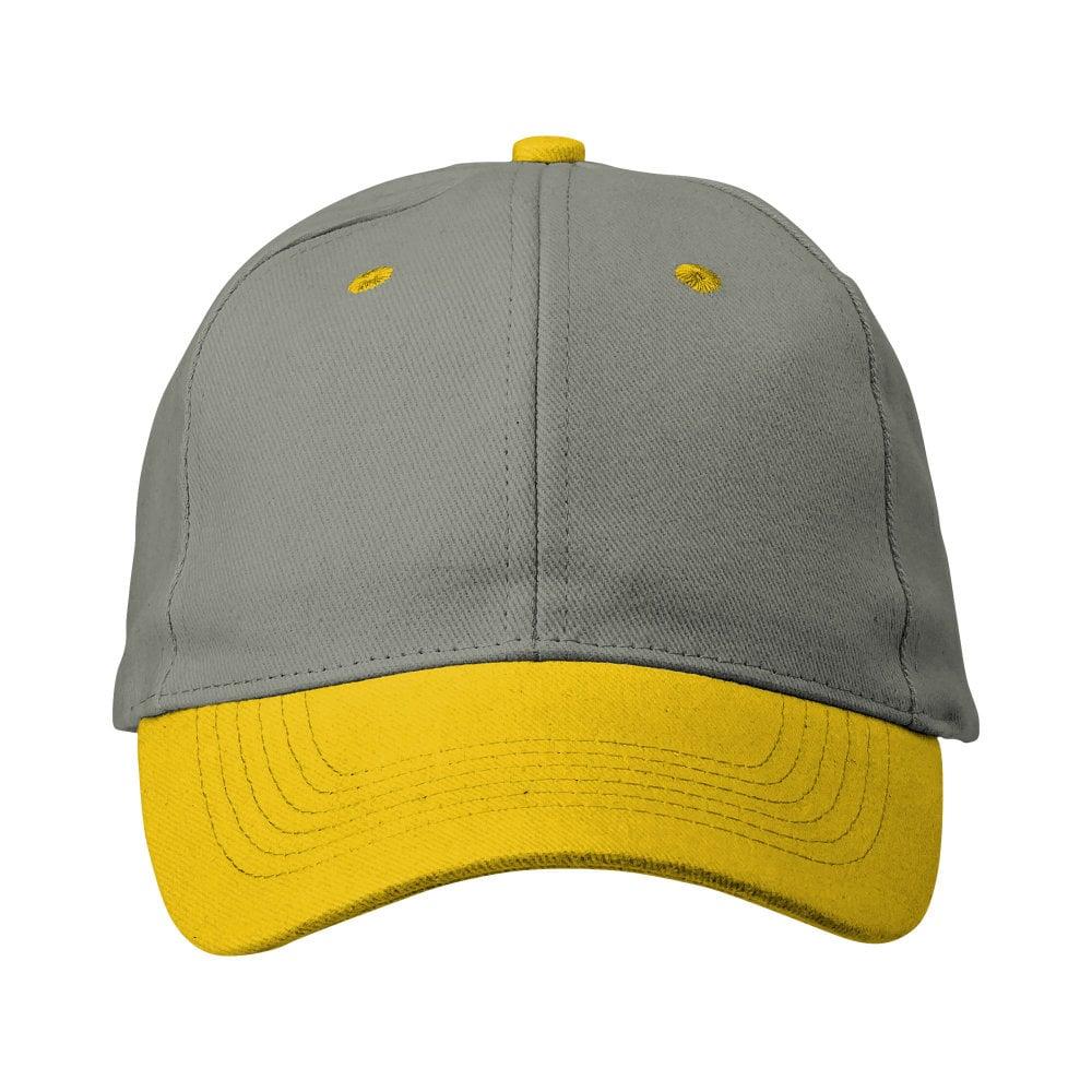 6 panelowa czapka z paskiem ściągającym