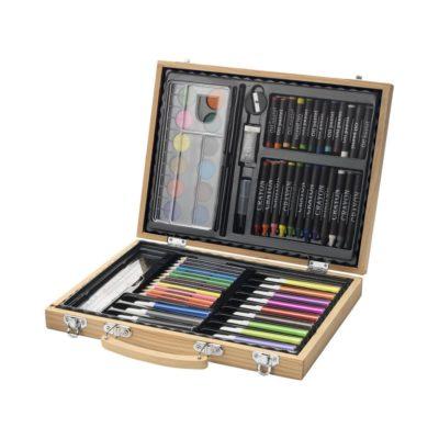 67-elementowy zestaw do malowania i rysunku Rainbow