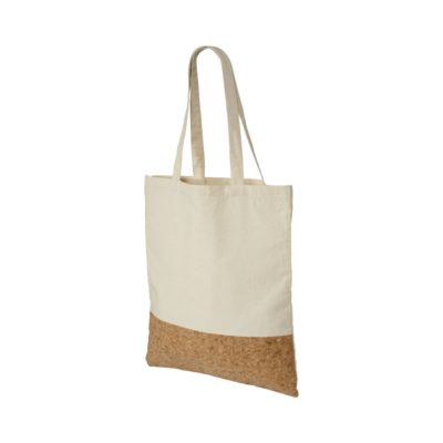 Bawełniano-korkowa torba