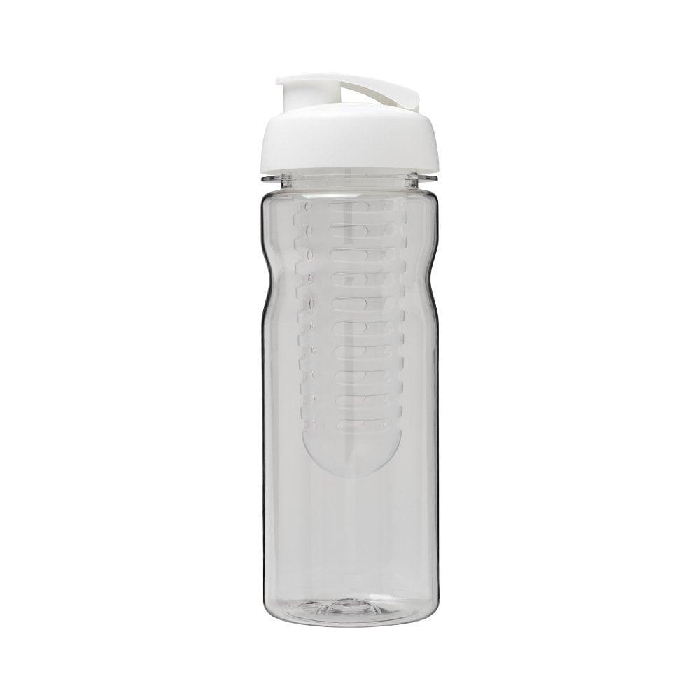 Bidon Base Tritan™ o pojemności 650 ml z wieczkiem zaciskowymz możliwością przyrządzania wody smakowej