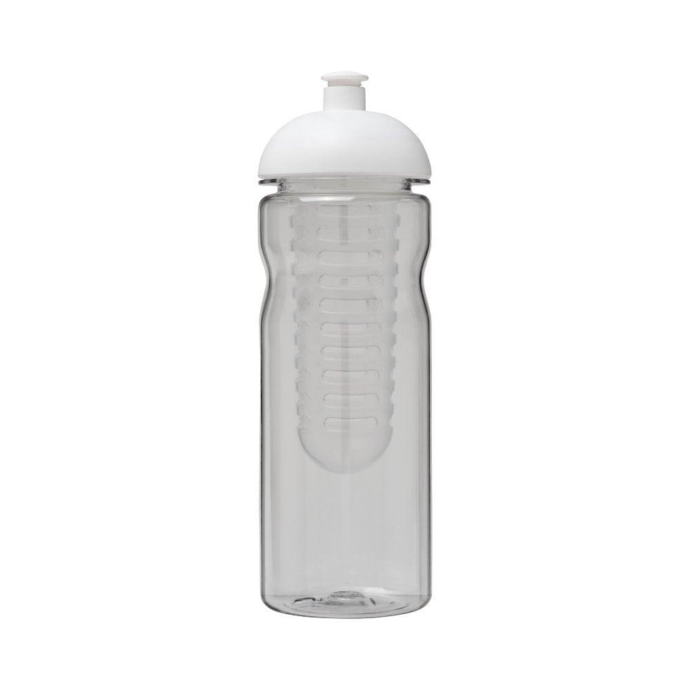 Bidon Base Tritan™ o pojemności 650 ml z wypukłym wieczkiem zmożliwością przyrządzania wody smakowej