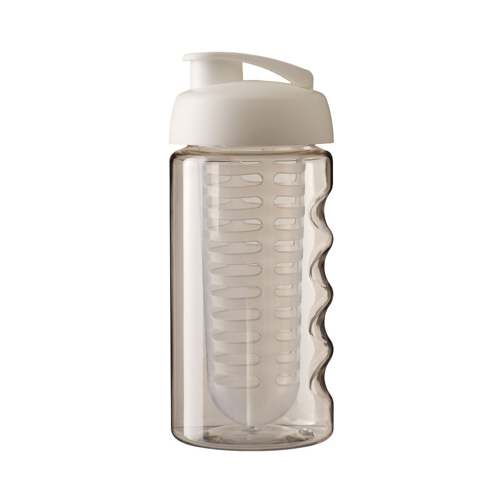 Bidon H2O Bop® o pojemności 500 ml z wieczkiem zaciskowym zmożliwością przyrządzania wody smakowej